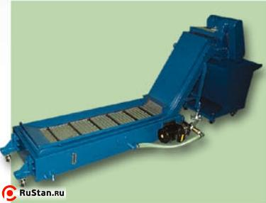 Chain type chip conveyor
