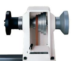 JET JML-1014i - Чрезвычайно плавное вращение привода с помощью клиновидных ремней